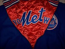 Mitchell & Ness Mets reversible wool jacket size large new retail 450$