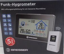 Bresser Funk- Hygrometer Hydrometer Wetterstation Aussensensor Touchscreen