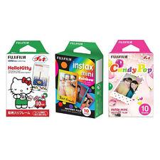 Hello Kitty & Rainbow & Candy Pop FujiFilm Instax Mini Film Polaroid 30 Photos