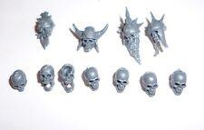 Warhammer Age of Sigmar Vampire Counts Skeletons Heads B - G394