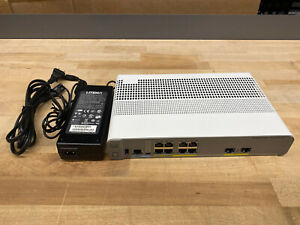 WS-C3560CX-8PT-S - Cisco 3560CX compact 8xPOE switch with power adapter PWR-ADPT