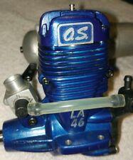 O.S. Engines 46 LA Stunt Nitro Model Airplane Engine w/ FOX Muffler new
