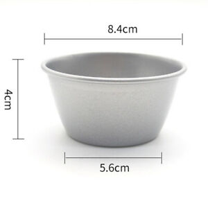 1x Mini Small Non-stick Baking Pudding Cup Muffins Basins Cake Molds Molten Pan