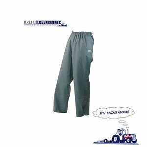 Seal Flex™ Over Trousers Olive Green 100% Waterproof - Breathable - 4 Sizes
