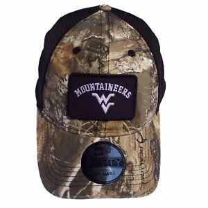 West Virginia Mountaineers New Era 9Forty Realtree Camo Adjustable Cap Hat $25