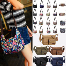 Women Multi Pocket Bag Messenger Cross Body Handbag Lady Hobo Shoulder Bag Tote^