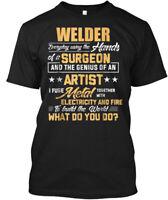 Welder Funny Welding S With Hanes Tagless Tee T-Shirt