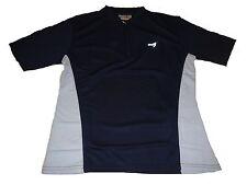 NEU Damen kurzarm Laufshirt Gr. S 36 / 38 blau-weiß !!