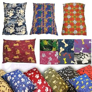 Dog Bed Pet Pillow Large XL Size Zip Cover With Inner Cushion Free Delivery