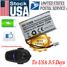 US Rechargeable Battery 650mAh for Sena 10S Motorcycle Bluetooth Helmet Headset