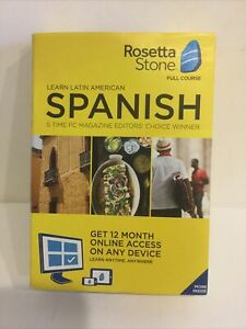 Rosetta Stone Learn Spanish (Latin America)PC/Mac for 12 months Online