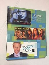 LIFETIME ORIGINAL STORY TELLING, THE MEMORY KEEPERS DAUGHTER, ARMY WIVES, DVD