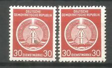 DDR  postfrisch DIENSTMARKE   D11 XI + XII   tiefst geprüft  Schönherr