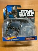HOT WHEELS Starships Star Wars FIRST ORDER TIE FIGHTER Black New