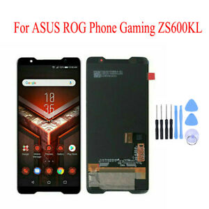 For Asus ROG Phone ZS600KL AMOLED Screen Touch Digitizer Glass Part BLACK