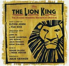 THE LION KING Broadway Musical Soundtrack CD - Excellent Condition