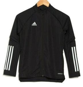 Adidas Condivo 20 Training Full Zip Top Youth Athletic Jacket NEW