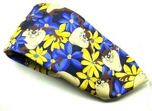 """TAZ FLORAL Marks & Spencer Men's Tie Polyester 3.5"""" Width 60"""" Long"""