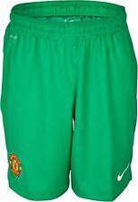 Adidas Manchester United 2013-14 Boys Goalkeeper Home Shorts Size 13-15 Years