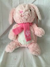 "Petsmart Squeaky Plush Chew Toy - 17"" Pink Bunny Lot# 687"