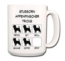 Affenpinscher Stubborn Tricks Extra Large 15oz Coffee Mug