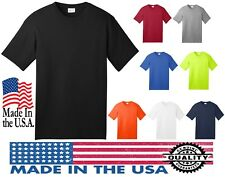 100% MADE IN THE USA New Men's T-Shirt Sizes Small - 4XL Adult All American Tee