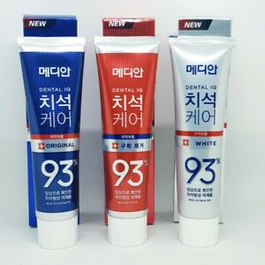 MEDIAN Dental IQ Tartar Care 93% Toothpaste Original White Bad Breath K-Beauty