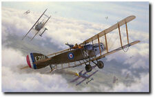 Two Birds With One Stone by Russell Smith - Bristol fighter E'2181 -Aviation Art