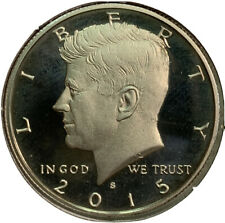 2015 S Proof Kennedy Half Dollar 50¢ Cent US Coin CV621