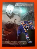 1999-00 UD Upper Deck Ovation Center Stage #CS2 Wayne Gretzky Edmonton Oilers