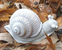Latex small realistic snail Mold Plaster Concrete wax mould