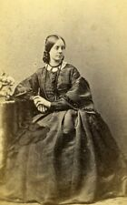 France Vichy Miss Hoog of London Second Empire Fashion CDV Photo Coutem 1860's