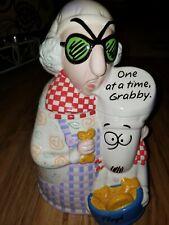 "2003 Hallmark MAXINE Cookie Jar  Floyd ""One at a Time Grabby"""