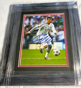 Cristiano Ronaldo Signed Autographed Custom Framed 8x10 Photo 1/1 AUTHENTIC