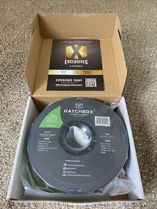 HATCHBOX PLA 1.75 mm 3D Printer Filament in Green, 1kg Spool