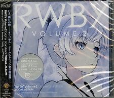 OST-RWBY VOLUME 2 ORIGINAL SOUNDTRACK VOCAL ALBUM-JAPAN CD F56