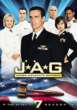 DVD: JAG: Judge Advocate General- Season 7, Greg Beeman, James Whitmore Jr.,. Ac