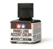 TAMIYA PANEL LINE ACCENT COLOR DARK BROWN - MARRONE SCURO 40 ml   ART 87140