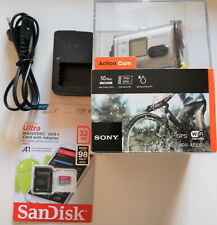 ACTION CAM SONY HDR-AS100V+32gb SD+CHARGER