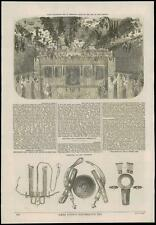 1868 - ETHIOPIA ABYSSINIAN Arms Ornaments OXFORD CAMBRIDGE Inns Court  (42)