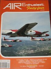 Air Enthusiast Magazine 44 Israeli Airlift 1948,T-37,SAETA,MS760,Avro 504,Fouga