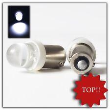 2 x 10mm piedistallo in metallo LED t4w ba9s Xenon Bianco 6v Spot Luce da interni