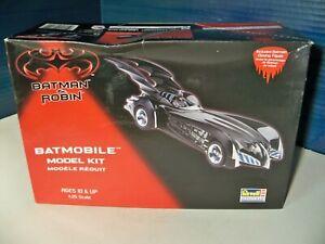 Batman & Robin Batmobile Model Kit from Revell