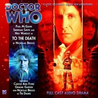 To the Death (Doctor Who: The Eighth Doctor Adve... by Briggs, Nicholas CD-Audio
