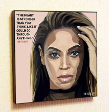 Beyonce Knowles Painting Decor Print Wall Art Poster Pop Canvas Quotes Decals
