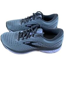 Brooks Ghost 13 Womens Size 10 Gray Athletic Walking Running Shoes Sneaker