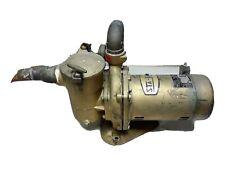STA-RITE Motor Pump C48J2EA11A3 and sta-rite FHD54-1 #4B3146