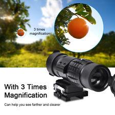 Loupe 3X Chasse Lunette de Visée 20mm Rail Champ Vision Pour Chasse