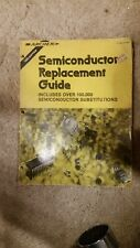 1980 Radio Shack Archer Semiconductor Replacement Guide , Diode , transistor +