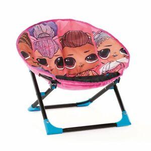 Remix Plush, Folding Moon Chair for Kids